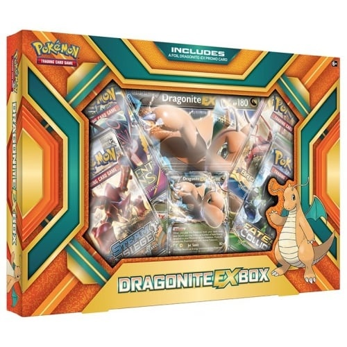Pokemon USA POKEMON: DRAGONITE EX BOX