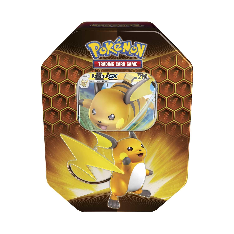Pokemon USA POKEMON: HIDDEN FATES TIN - RAICHU