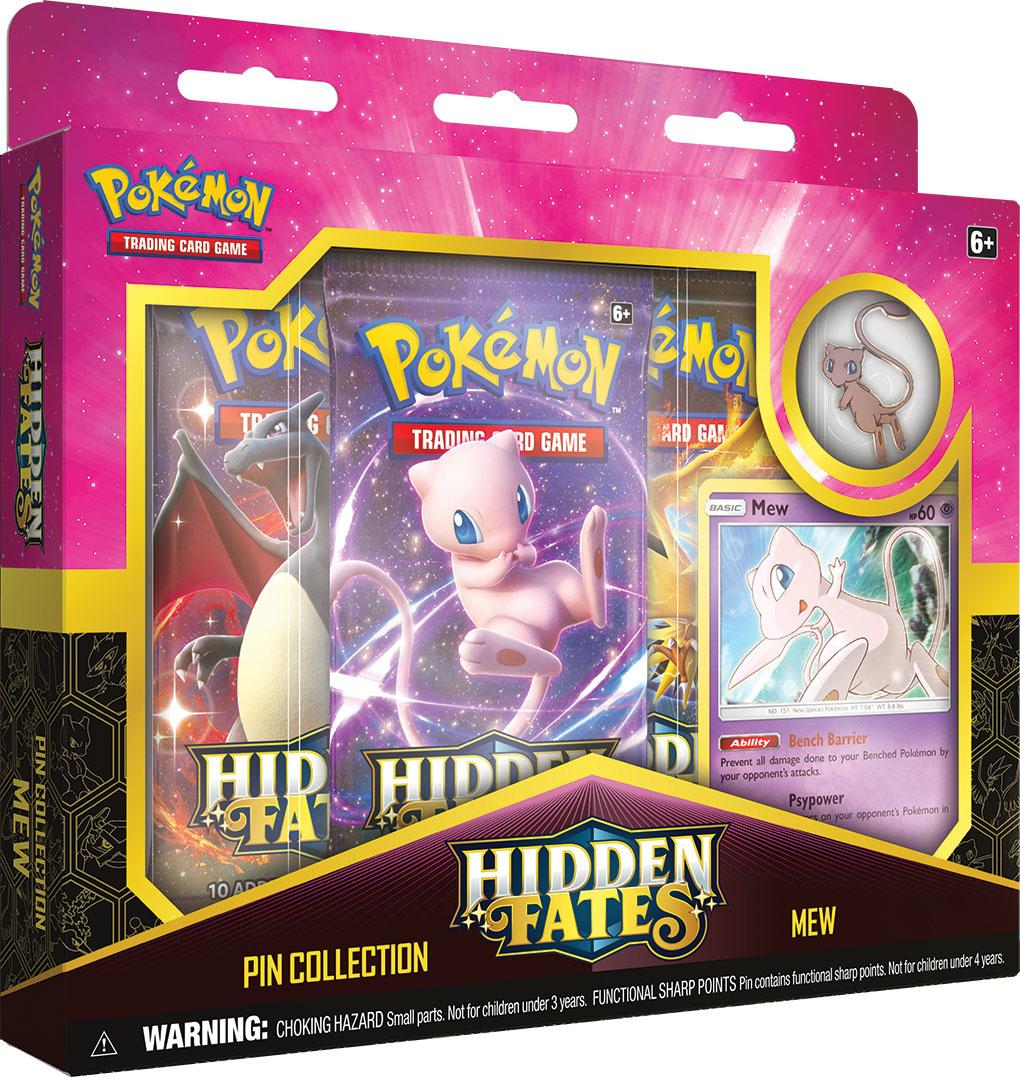 Pokemon USA POKEMON: HIDDEN FATES PIN COLLECTION - MEW