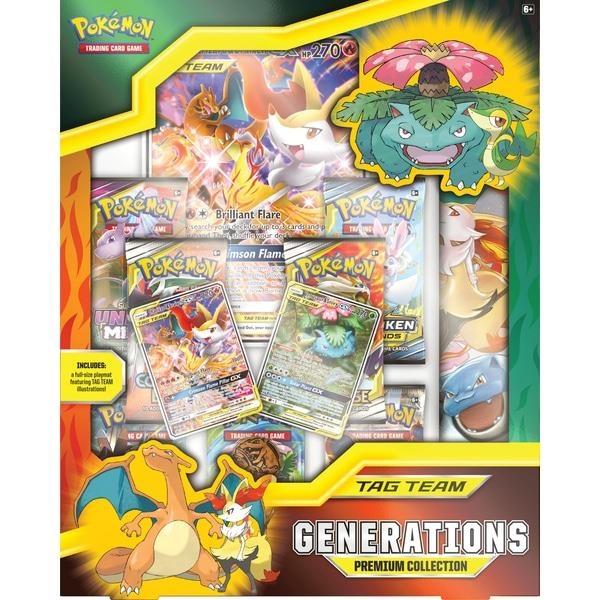 Pokemon USA POKEMON: TAG TEAM GENERATIONS - PREMIUM COLLECTION