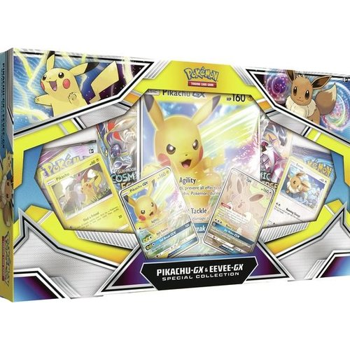 Pokemon USA POKEMON: PIKACHU-GX & EEVEE-GX - SPECIAL COLLECTION
