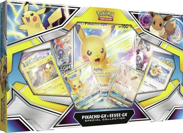 Pokemon USA POKEMON: PIKACHU-GX & EEVEE-GX - SPECIAL COLLECTION
