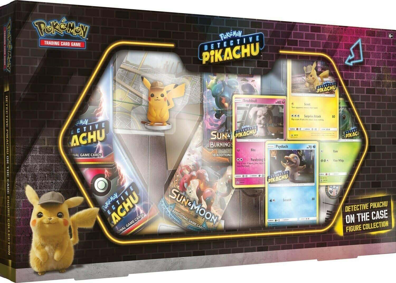 Pokemon USA POKEMON: DETECTIVE PIKACHU: ON THE CASE FIGURE COLLECTION