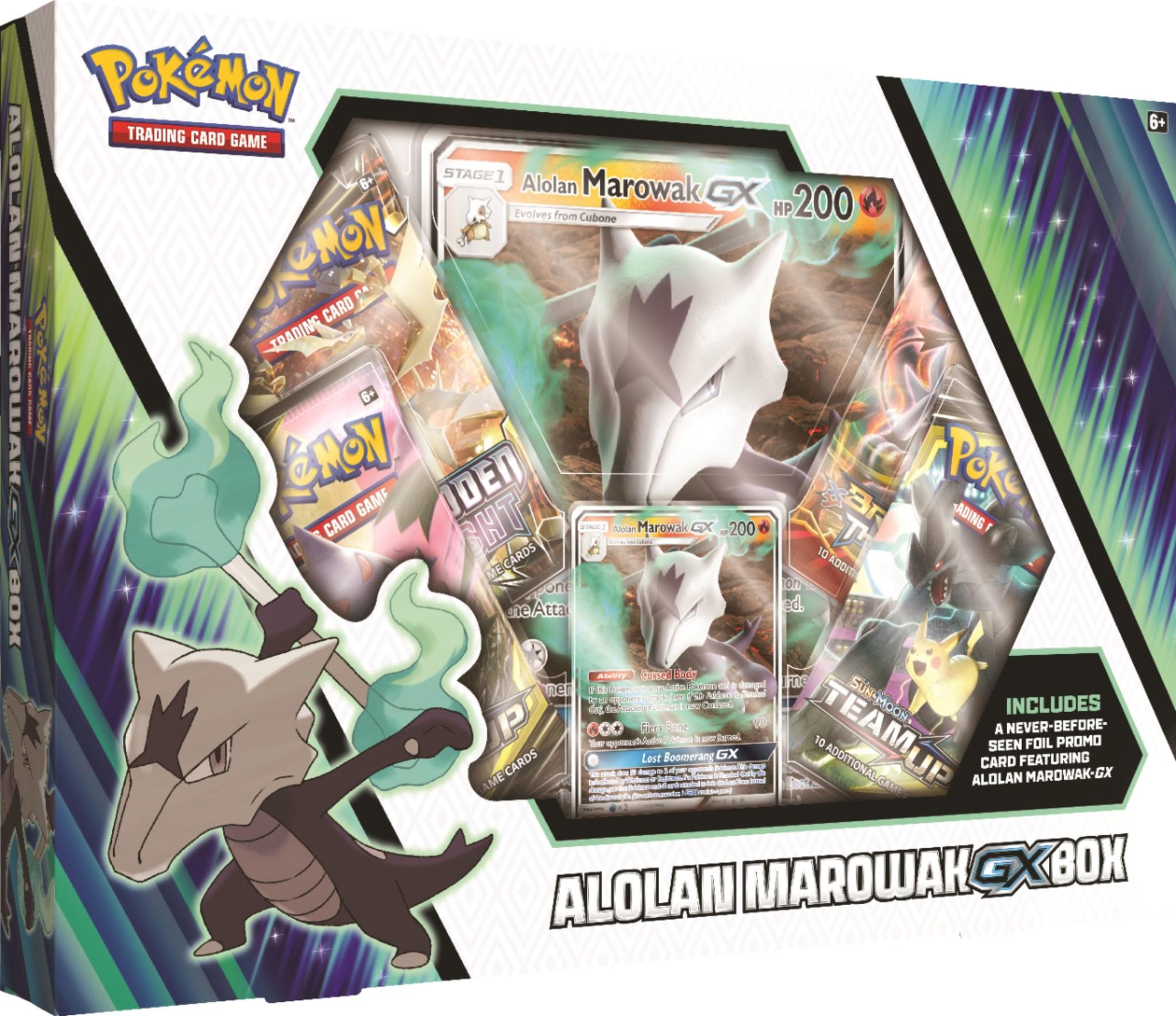 Pokemon USA POKEMON: ALOLAN MAROWAK GX BOX