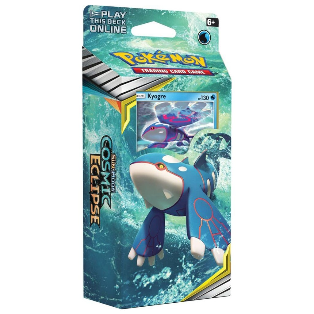 Pokemon USA POKEMON: SUN & MOON 12: COSMIC ECLIPSE - KYOGRE THEME DECK