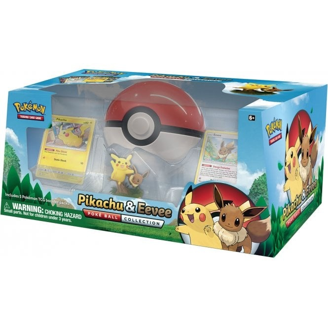 Pokemon USA POKEMON PIKA & EEVEE POKEBALL
