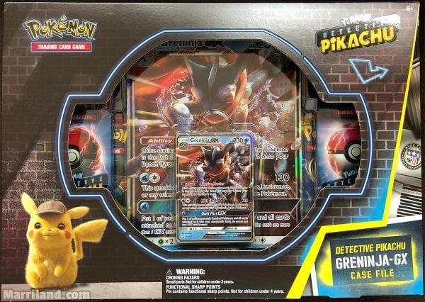 Pokemon USA POKEMON D-PIKACHU GRENINJA GX