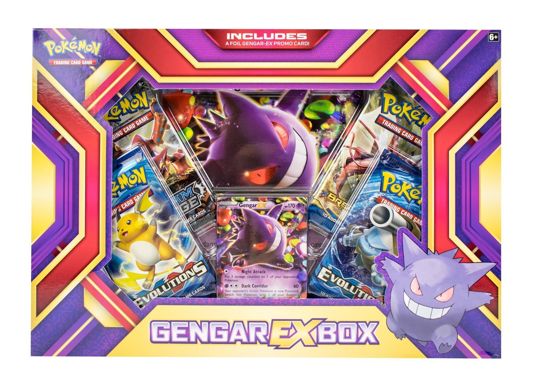 Pokemon USA POKEMON: GENGAR EX BOX