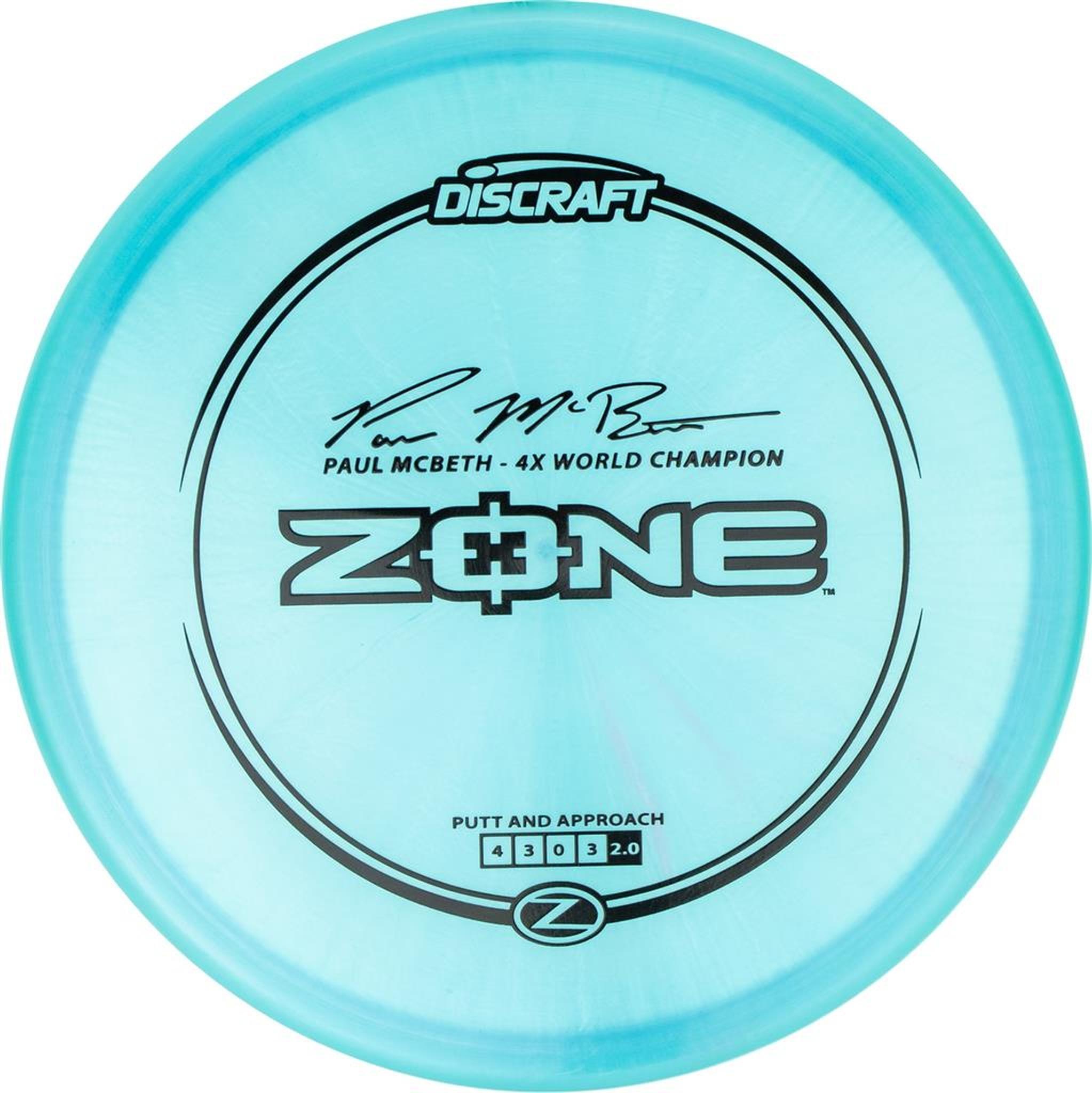 Discraft ZONE Z PAUL MCBETH 170g-172g
