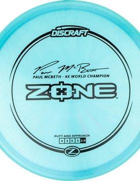 Discraft ZONE Z PAUL MCBETH 167g-169g