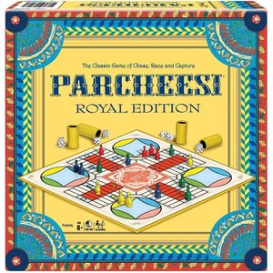 WINNING MOVES PARCHEESI ROYAL EDITION
