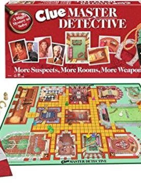 WINNING MOVES CLUE MASTER DETECTIVE