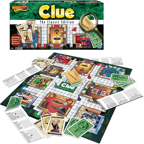 WINNING MOVES CLUE CLASSIC