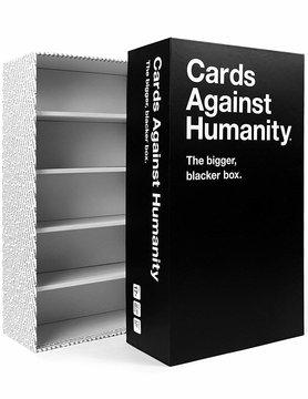 Cards Against Humanity CARDS AGAINST HUMANITY: BIGGER BLACKER BOX