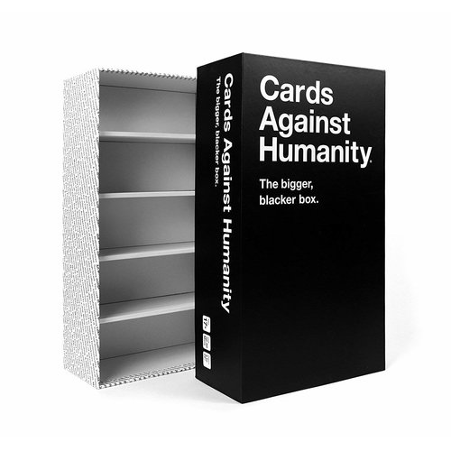 Cards Against Humanity CARDS AGAINST HUMANITY: BIGGER BLACKER BOX