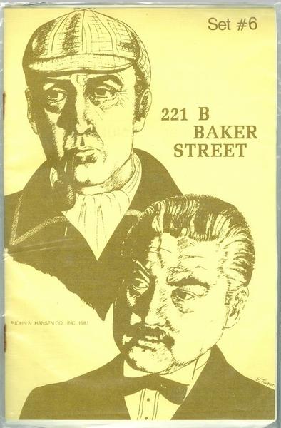 JOHN HANSEN COMPANY BAKER ST SUPPLEMENT #6