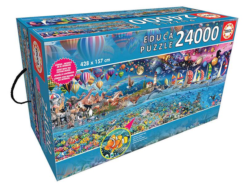 JOHN HANSEN COMPANY ED24000 LIFE, THE GREATEST PUZZLE
