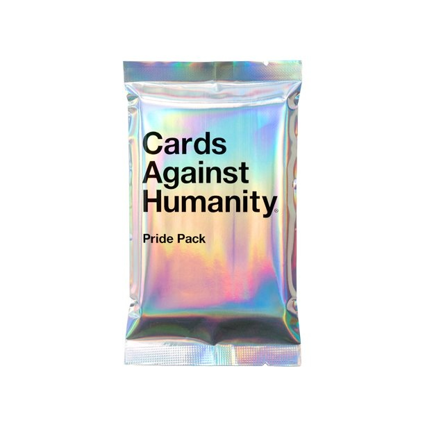 Cards Against Humanity CARDS AGAINST HUMANITY: PRIDE PACK WITHOUT GLITTER