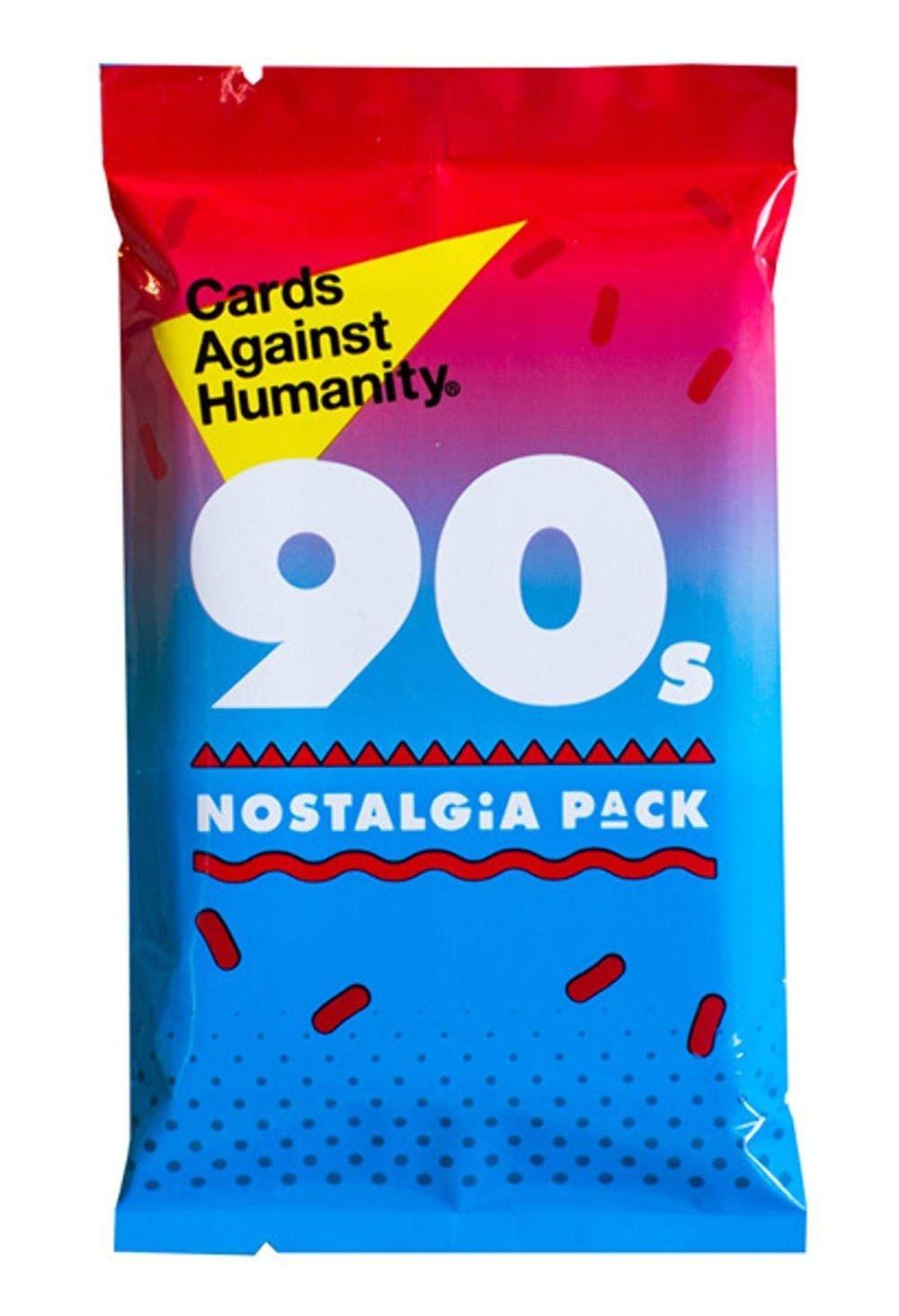Cards Against Humanity CARDS AGAINST HUMANITY:  90s NOSTALGIA PACK