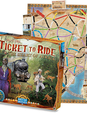Days of Wonder TICKET TO RIDE: AFRICA MAP COLLECTION 3