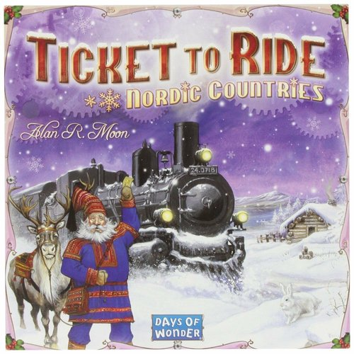 Days of Wonder TICKET TO RIDE NORDIC COUNTRIES