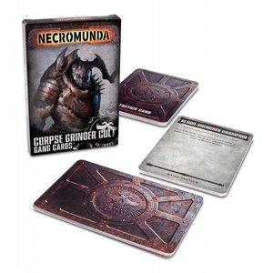 Games Workshop NECROMUNDA: CORPSE GRINDER GANG CARDS