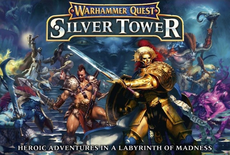 Games Workshop WH QUEST AoS: SILVER TOWER