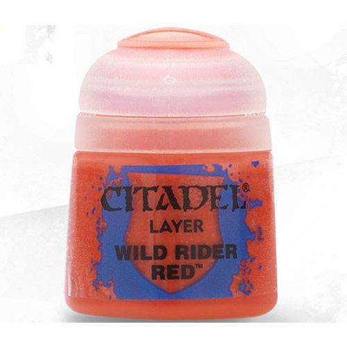 Games Workshop CITADEL (LAYER): WILD RIDER RED