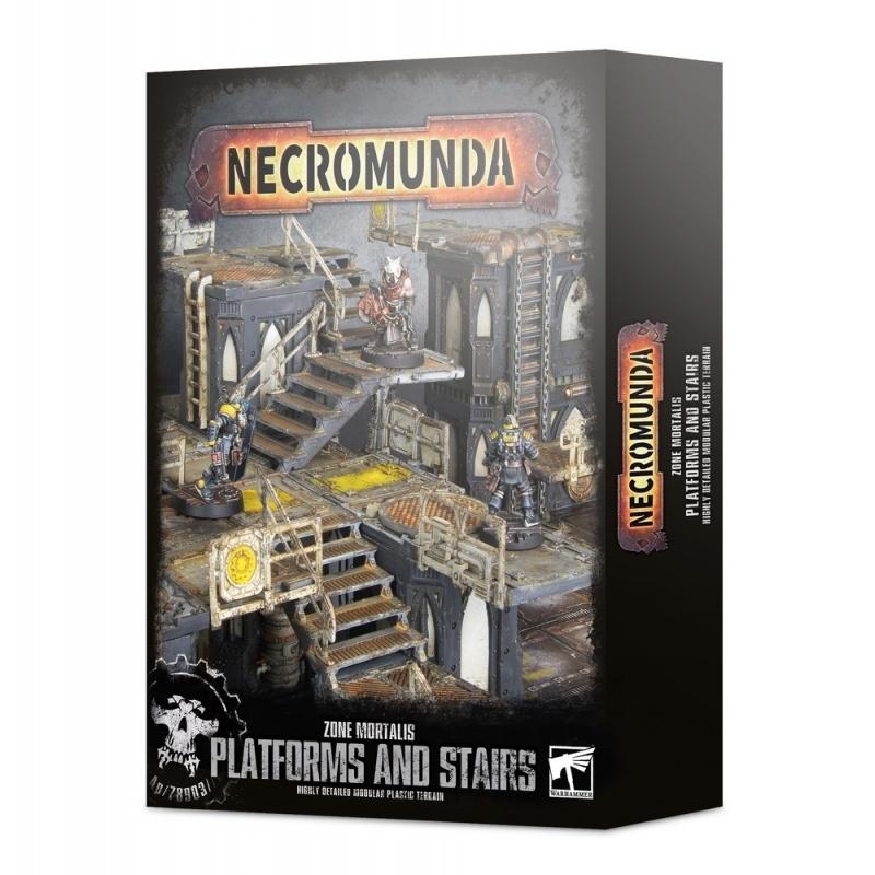 Games Workshop ZONE MORTALIS: PLATFORMS & STAIRS
