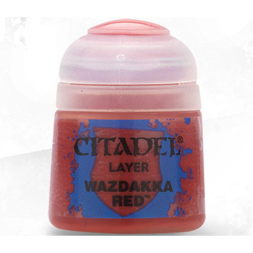 Games Workshop CITADEL (LAYER): WAZDAKKA RED