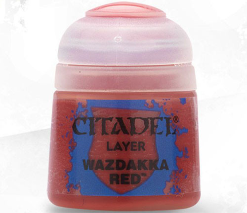 Games Workshop CP WAZDAKKA RED
