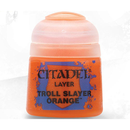 Games Workshop CITADEL (LAYER): TROLL SLAYER ORANGE