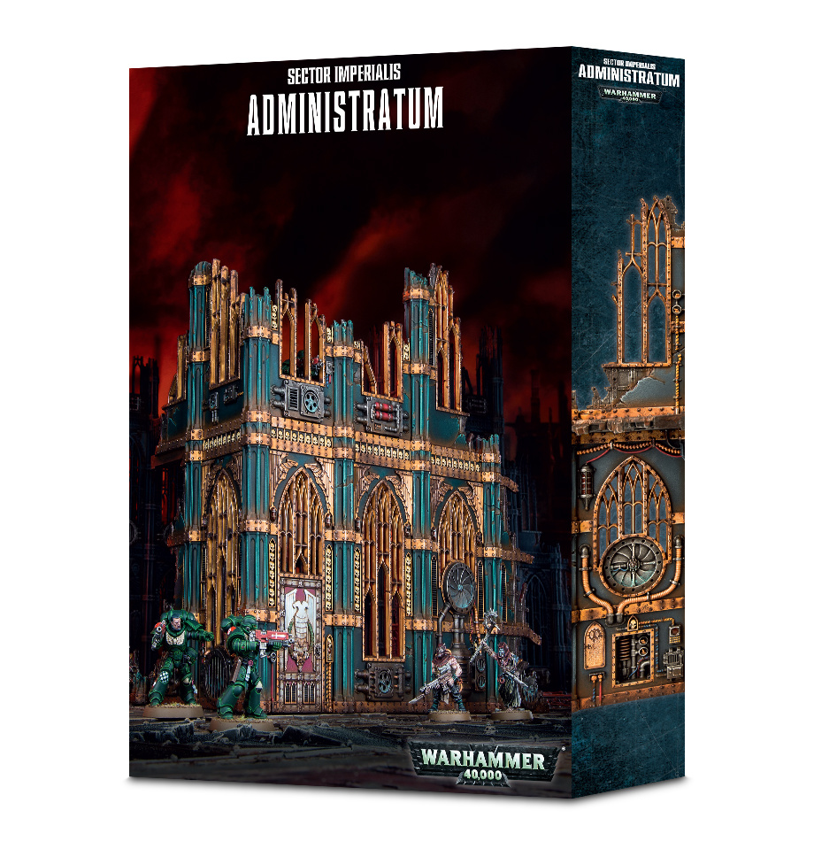 Games Workshop 40K SECTOR IMPERIALIS ADMINISTRATUM