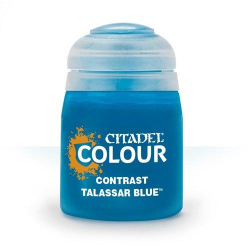 Games Workshop CITADEL (CONTRAST): TALASSAR BLUE