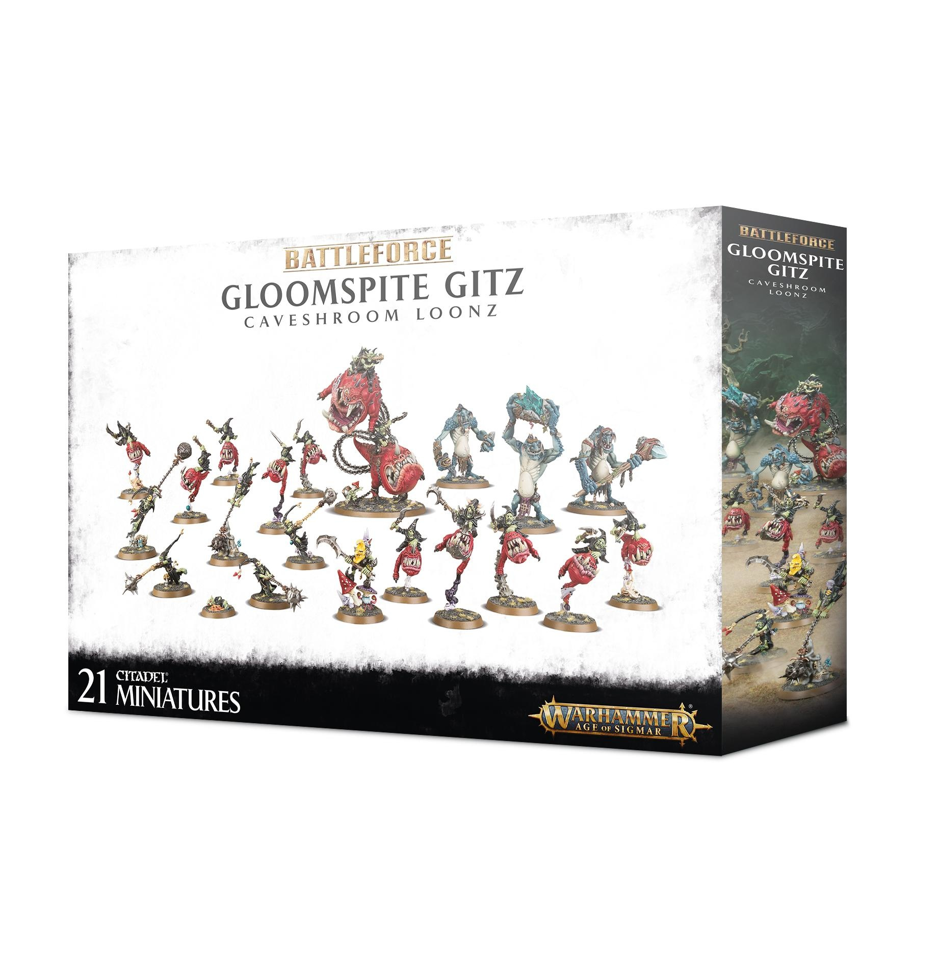 Games Workshop GLOOMSPITE GITZ: CAVESHROOM LOONZ