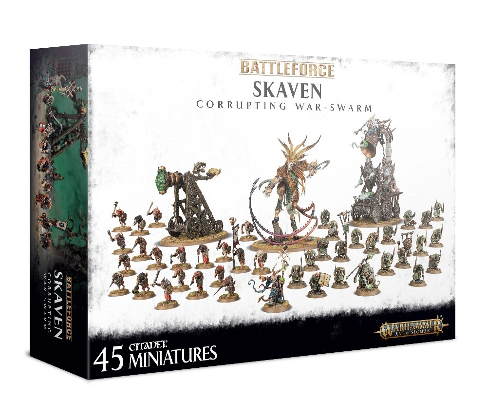 Games Workshop SKAVEN CORRUPTING WAR-SWARM