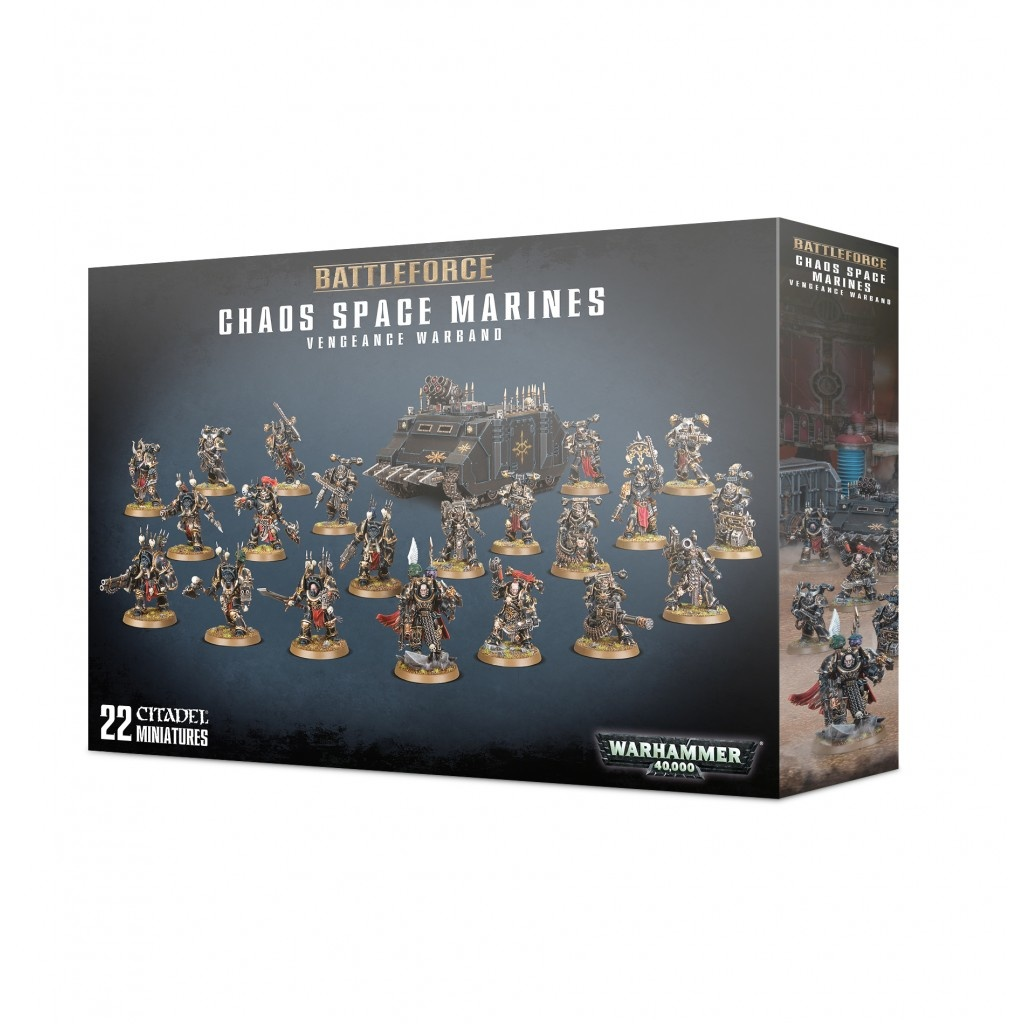 Games Workshop CHAOS SPACE MARINES VENGEANCE WARBAND