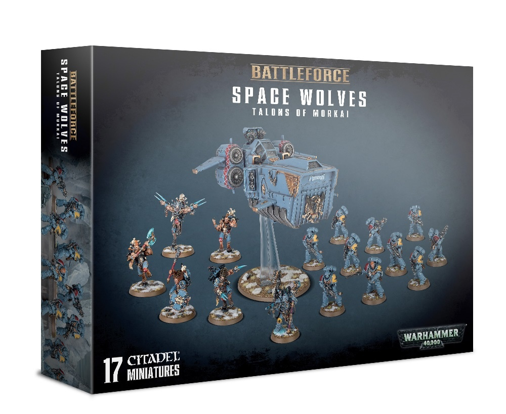 Games Workshop SPACE WOLVES: TALONS OF MORKAI