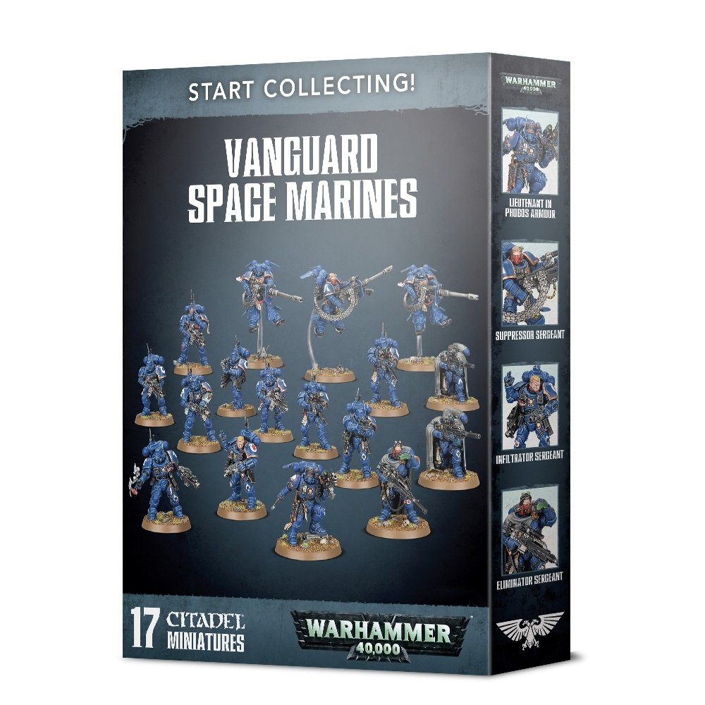 Games Workshop START COLLECTING: VANGUARD SPACE MARINES