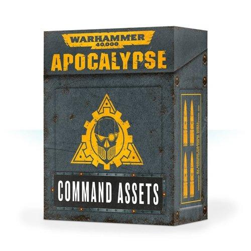 Games Workshop WH40K APOCALYPSE ASSET CARDS