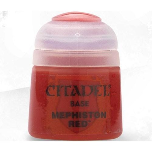 Games Workshop CITADEL (BASE): MEPHISTON RED