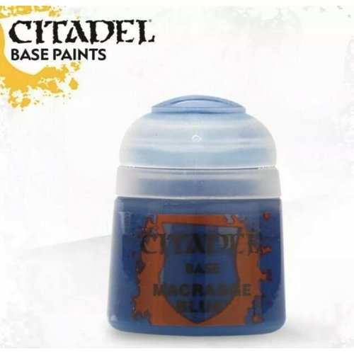 Games Workshop CITADEL (BASE): MACRAGGE BLUE