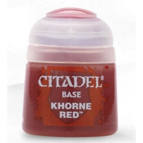 Games Workshop CITADEL (BASE): KHORNE RED
