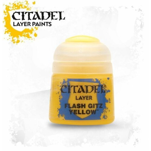 Games Workshop CITADEL (LAYER): FLASH GITZ YELLOW