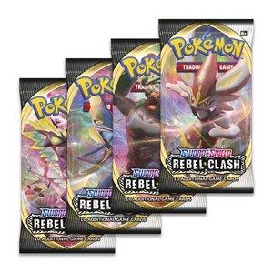 Pokemon USA POKEMON: SWORD & SHIELD 2: REBEL CLASH - BOOSTER
