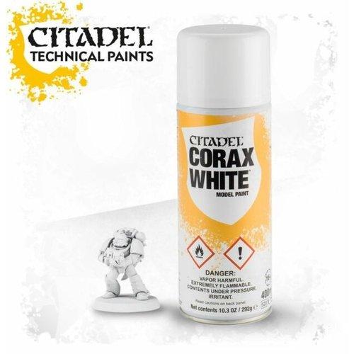 Games Workshop CITADEL (SPRAY): CORAX WHITE