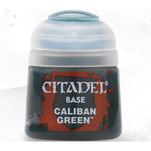 Games Workshop CITADEL (BASE): CALIBAN GREEN