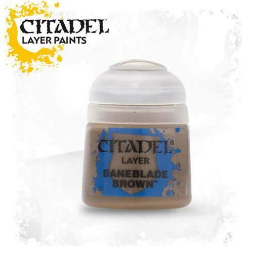 Games Workshop CITADEL (LAYER): BANEBLADE BROWN