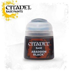 Games Workshop CITADEL (BASE): ABADDON BLACK