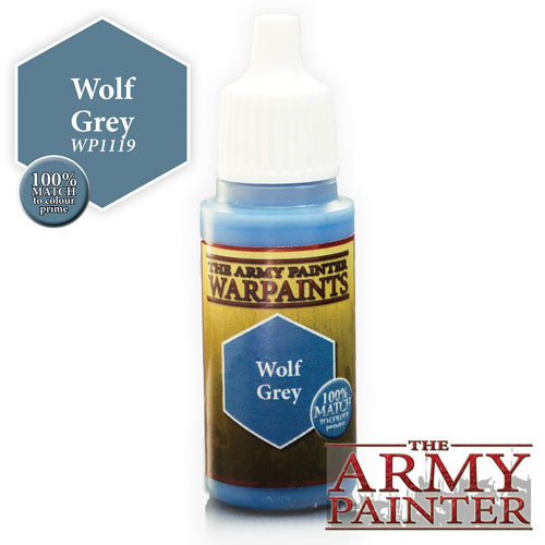The Army Painter WARPAINT: WOLF GREY